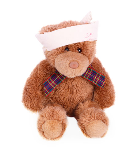 Teddy with Headband
