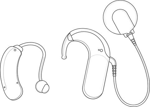 Hörgerät und SONNET 2